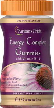 Puritan's Pride Energy Complex Gummy with Vitamin B12-60 Gummies