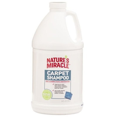 Natures Miracle Advanced Deep Cleaning Carpet Shampoo 64 Ounce