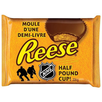 Reese Peanut Butter Cup Candy, Half Pound Cup, 226-Gram/7.97oz