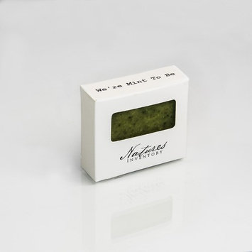 Aleko Nature's Inventory All Natural Nourishing We're Mint To Be Soap Bar