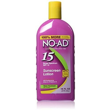 No-Ad Spf15 Sunblock Lotion 16 (Pack of 2) by No-Ad