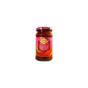 Pataks Madras Curry Paste Hot 10oz