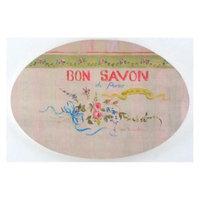 Pink Bon Savon Bath Plaque