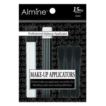 (PACK OF 6) Almine Make-up Applicators 15pc #4261 : Beauty