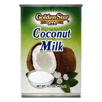 Golden Star Coconut Milk, 13.5 OZ (Pack of 12)