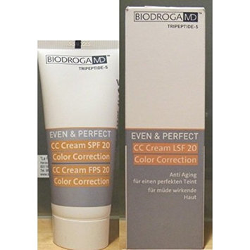 Biodroga Md Cc Cream SPF 20 Color Correction 40 Ml. For a Perfect Complexion Neutralizes Skin
