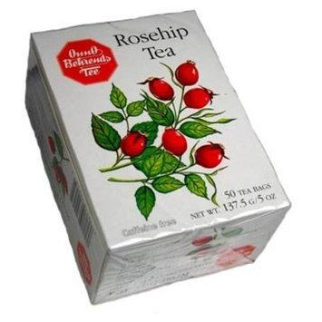Onno Behrends Rosehip Tea, 50 tea bags (4.8oz) - pack of 4