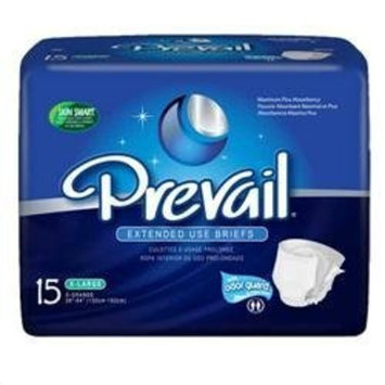 Prevail PM Overnight/Extended Wear Briefs, Size X-Large, Full Case of 60 (243-1823)