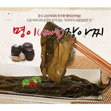 Korean Packaged Ready-to-eat Pickled Side Dish (Myung E 명이, 1 Pack)