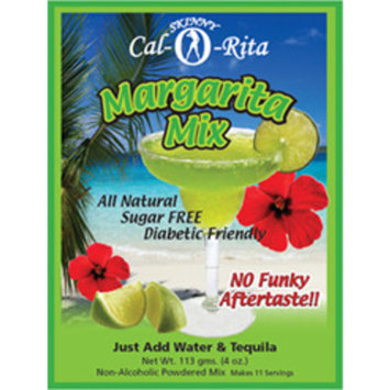 Cocktail Mix - Skinny Cal-O-Rita (TM) Margarita - Zero Calorie & Carb All Natural Powder, 44 Srv / 2.5 gal