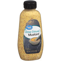 Wal-mart Stores, Inc. Great Value Stone Ground Mustard, 12 oz
