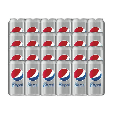 Diet Pepsi, 12 ounce Cans, 24 Count