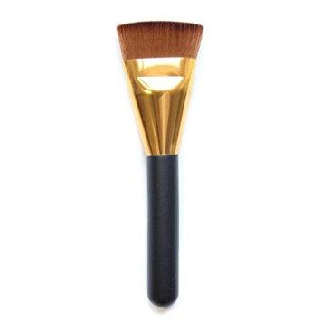 Toraway Professional Cosmetic Flat Contour Brush Face Blend Makeup Brush Black (G