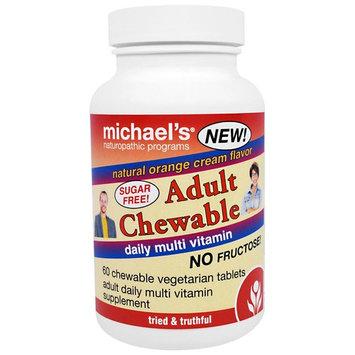 Michael's Naturopathic Programs Adult Chewable Daily Multi Vitamin Natural Orange Cream -- 60 Wafers