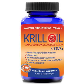 Totally Products, Llc. Totally Products 100-percent Pure Krill Oil (60 Softgels)