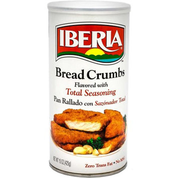 Iberia Bread Crumbs, Total Seasoning, 15 Oz