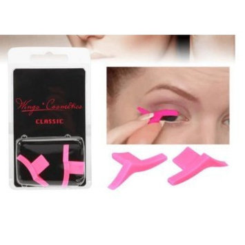 Winged Eyeliner Stamp Classic, Easy to Use, Wing Stamp, 2 Wing Stamps in 1 Stamp, Authentic
