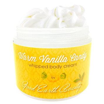 Body Cream Warm Vanilla Candy Natural By Good Earth Beauty