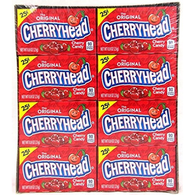 Lemonheads Cherryheads, 0.9-Oz Box, Pack Of 24
