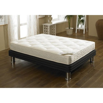 Orthopaedic Open Coil Spring, Happy Beds Gold Tufted Medium Tension Mattress - 4ft6 Double (135 x 190 cm)
