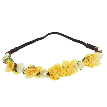 TOOGOO(R) Flower Boho Floral Headband Garland Festival Wedding Bridal Hairband