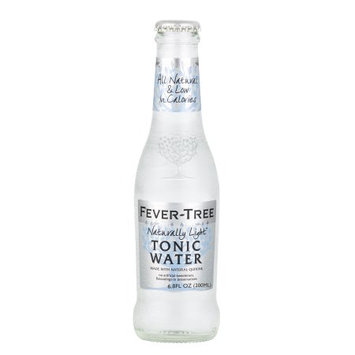Fever-Tree Naturally Light Tonic Water, 6.8 Fl Oz (Pack of 24)