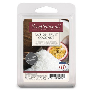 Rimports Usa Llc ScentSationals Wax Cubes, Passion Fruit Coconut