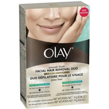 Olay Smooth Finish Facial Hair Removal Duo 1 Kit (2 Pack)