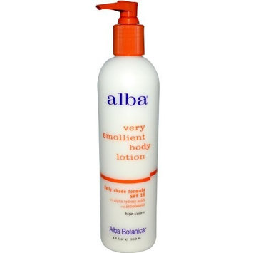 Alba Botanica, Very Emollient Body Lotion, Daily Shade Formula, SPF 16, 12 fl oz (350 ml) by Alba