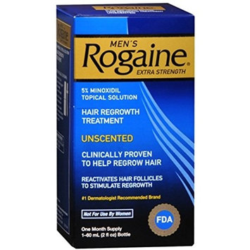 Rogaine Men's Extra Strength Unscented 2 oz (Pack of 8)