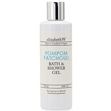 elizabethW Pompom Patchouli Bath and Shower Gel
