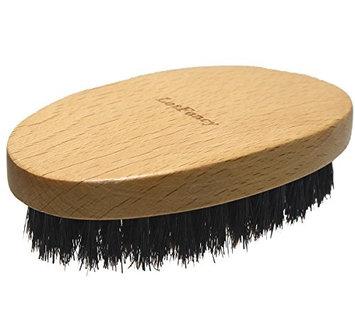 LotFancy Beard and Hair Brush for Men, Made of 100% Natural Boar Bristle