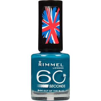 N.y.c. New York Color Rimmel London 60 Seconds Nail Polish 844 Out Of The Blue 0.27oz / 8oz