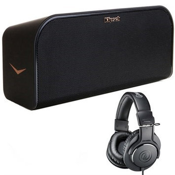 Klipsch KMC3 Wireless Music System with Bluetooth Black with Headphones