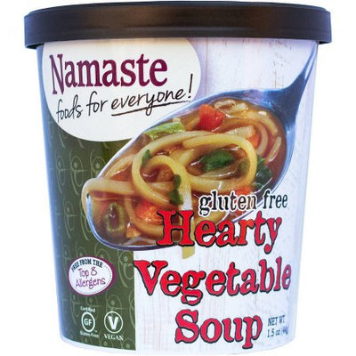 Namaste Foods Soup Hearty Vegetable 1.5 Oz Case of 12