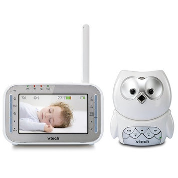 Baby Monitor - Full Color Owl Video Monitor with Automatic Night Vision