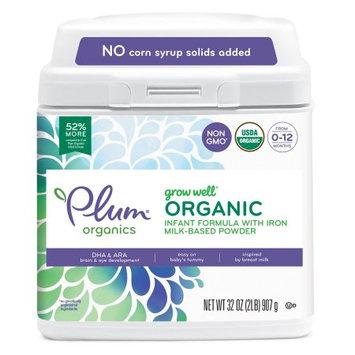 Plum Organics Infant Formula - 32oz