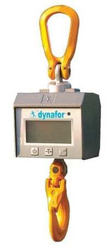 TRACTEL MWX 2 TR Crane Scale, LCD, Capacity 4000 lb