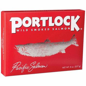 Portlock Wild Smoked Pacific Salmon - Kosher(Chof - K) - Net Weight 8 OZ - All Natural