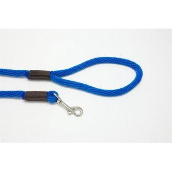 Purple Pebble LZ384BL 4 ft. x 0. 37 inch Leedz Medium Blue Leash
