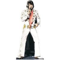 Advanced Graphics 391 Elvis Presley-White Jumpsuit- 70