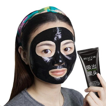 Baomabao Black Remove Blackhead Mud Deep Cleansing Purifying Peel Off Facail Face Mask