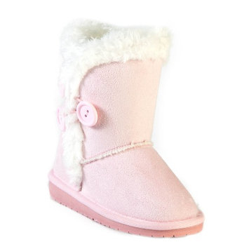 Dawgs Kids' 3-Button Microfiber Boots