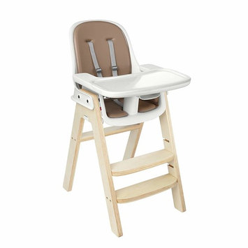 OXO Tot Sprout Chair with Tray Cover, Taupe and Birch [1]