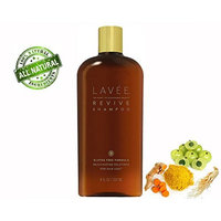 Lavée Organic Revive Rejuvinating Shampoo (32 oz) - Anti Hair Loss - Features organic complex of Ginseng, Tumeric, Amla Berry - Promote Hair Growth - Gluten Free, Sulfate Free, Paraben Free and Vegan