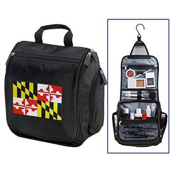 Maryland Flag Toiletry Bags Or Hanging Maryland Shaving Kits