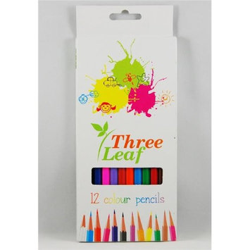 Three Leaf 1853444 Colored Pencils - Count of 12 - Case of 72