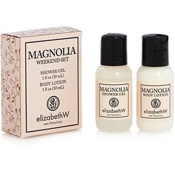 ElizabethW Magnolia Weekend Set (Shower Gel and Body Lotion)