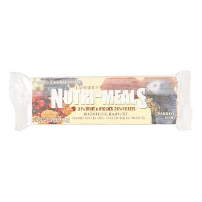 Lafeber Company BLA17500 Bountiful Harvest Parrot Nutri-Meal Bar 2 oz.