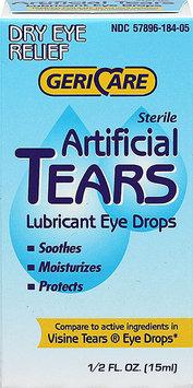 Gericare Artificial Tears Lubricant Eye Drops-0.5 oz Drops